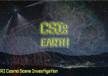 Arriva CSI Earth, i Cosmo Scene Investigators tutti per voi