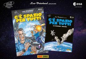 Paolo Nespoli ritorna nello spazio (con Rat-Man)