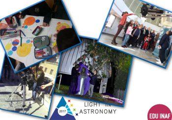 Light in Astronomy 2017: una galleria