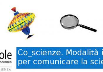 Co_scienze: corso di formazione per comunicare la scienza