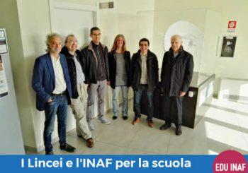 INAF e Accademia dei Lincei insieme per la scuola