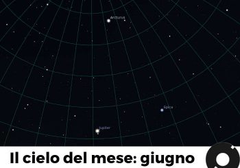Il cielo del mese: giugno 2018