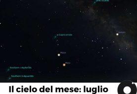 Il cielo del mese: luglio 2018 ed eclissi di Luna