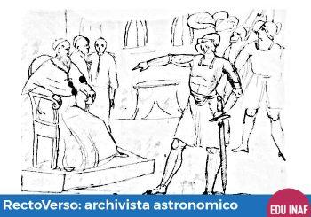 RectoVerso: l'archivio degli astronomi visto da vicino