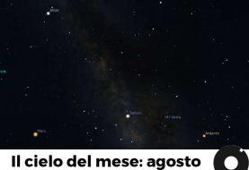 Il cielo del mese: agosto 2018 e la notte delle comete