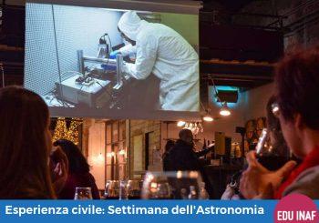 Esperienza civile: XIX Settimana dell'Astronomia