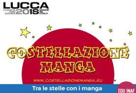 Costellazione Manga vola a Lucca Comics & Games 2018