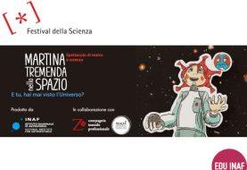 Martina Tremenda nello spazio: l'astronomia a teatro per piccoli e grandi