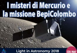 Light in Astronomy con Bepi Colombo, a Roma