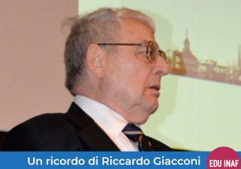 Un ricordo di Riccardo Giacconi