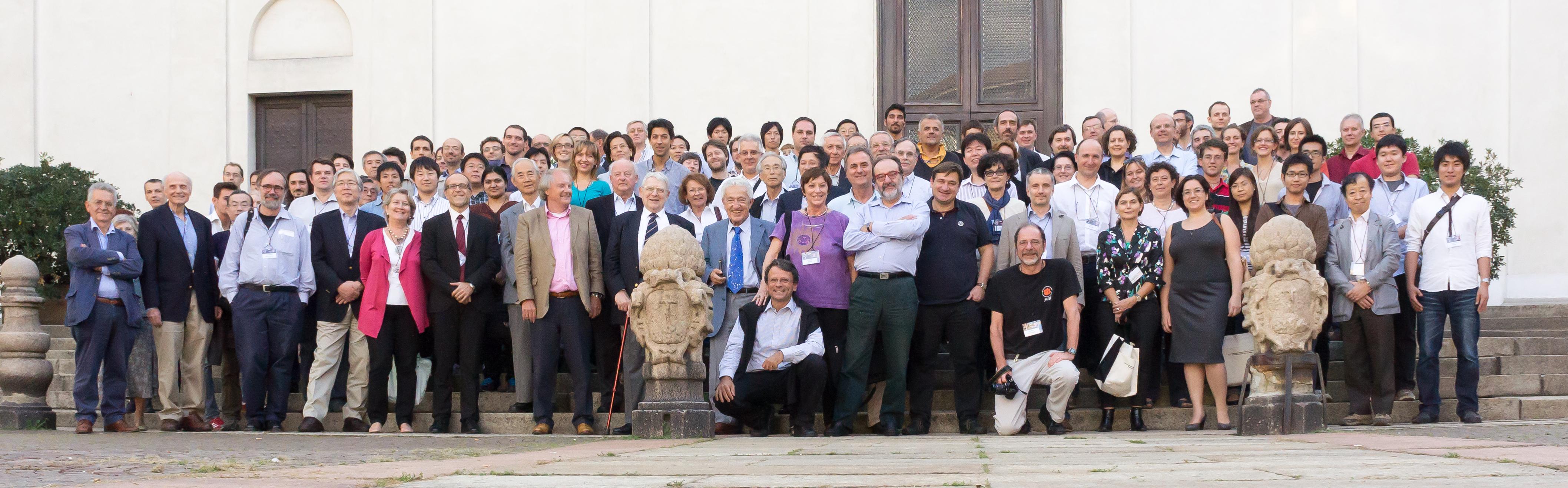 """Foto di gruppo del Congresso """"X-ray Astronomy: towards the Next 50 Years"""""""