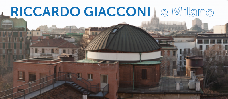 Riccardo Giacconi e Milano