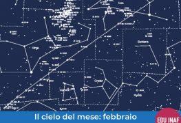 Il cielo del mese: febbraio 2019, la Luna e la cometa