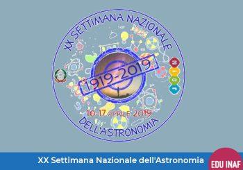 XX Settimana Nazionale dell'Astronomia