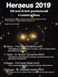 Calendario Unifi.Ciclo Heraeus 2019 A Firenze Edu Inaf
