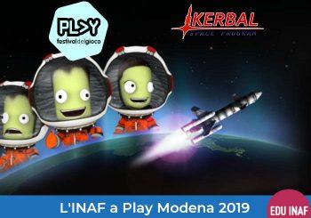 L'INAF a Play Modena: Cosmic Mission