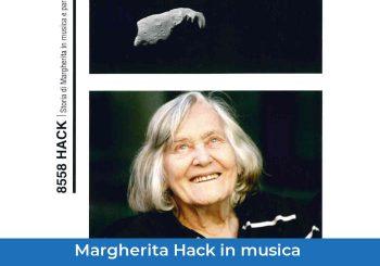 8558 Hack: Storia in musica e parole di Margherita Hack