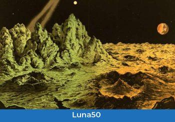 A Brera, cartoline dalla Luna