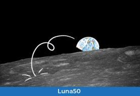 Quando siamo andati sulla Luna: dillo con un video