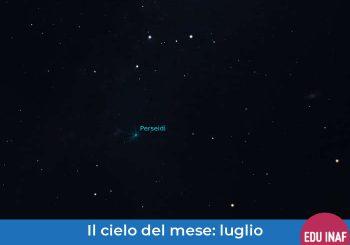 Il cielo del mese: agosto 2019 e le stelle cadenti