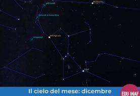 Il cielo del mese: dicembre 2019 e la corte di Orione