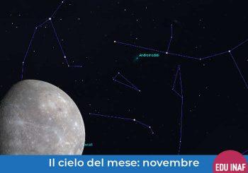 Il cielo del mese: novembre 2019 e il transito di Mercurio