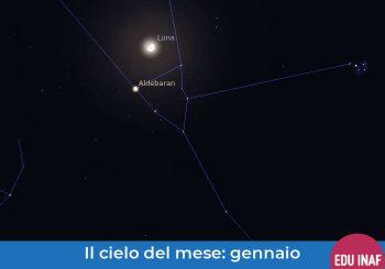 Il cielo del mese: gennaio 2020 e le sette sorelle