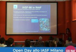OpenDay@IASF-Mi: studenti universitari fra Universo e bigné