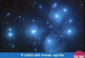 Il cielo del mese: aprile 2020, Venere e le Pleiadi