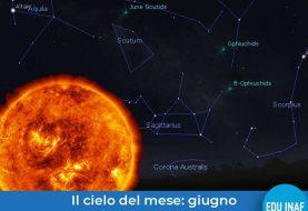 Il cielo del mese: Il sole di giugno 2020