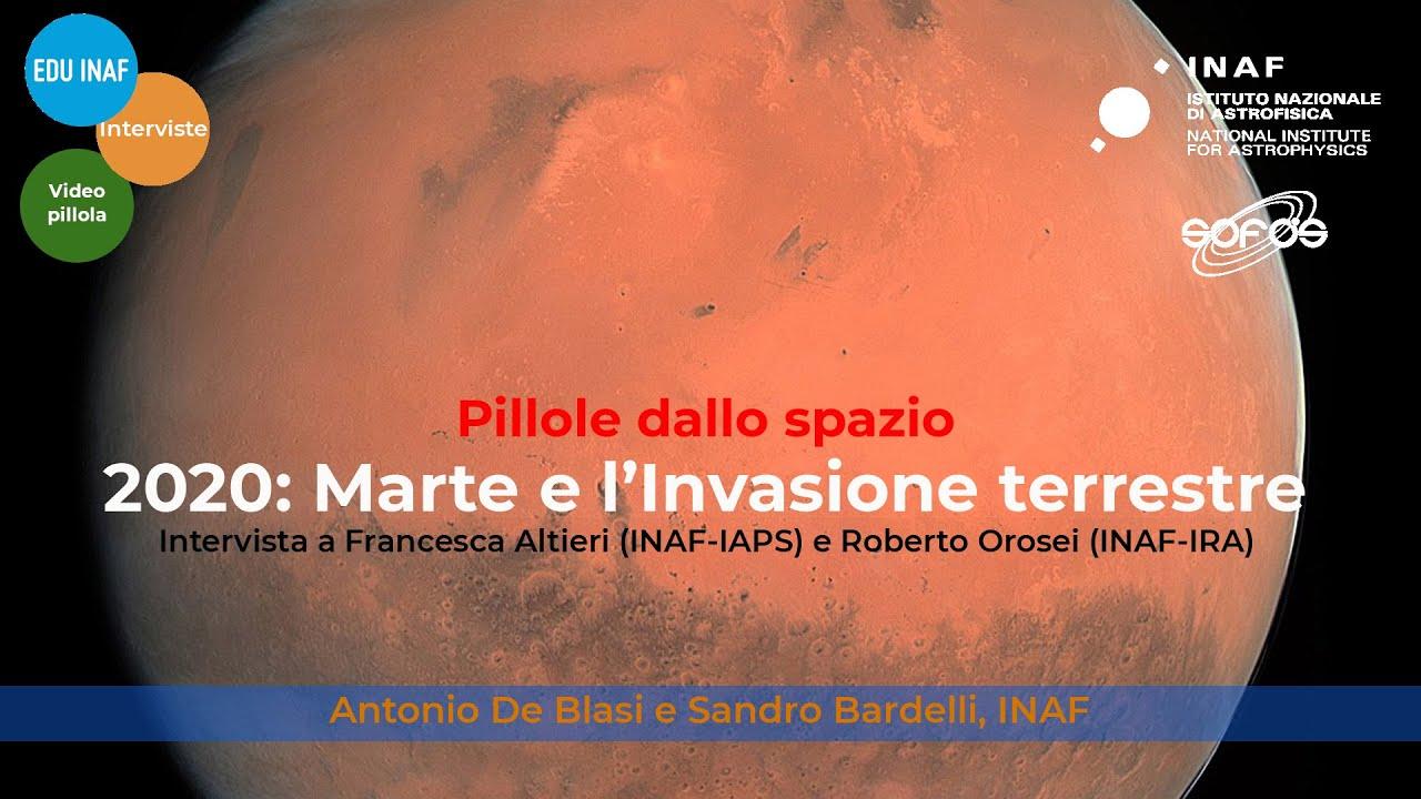 2020: Marte e l'invasione terrerste