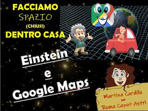 Einstein e Google Maps