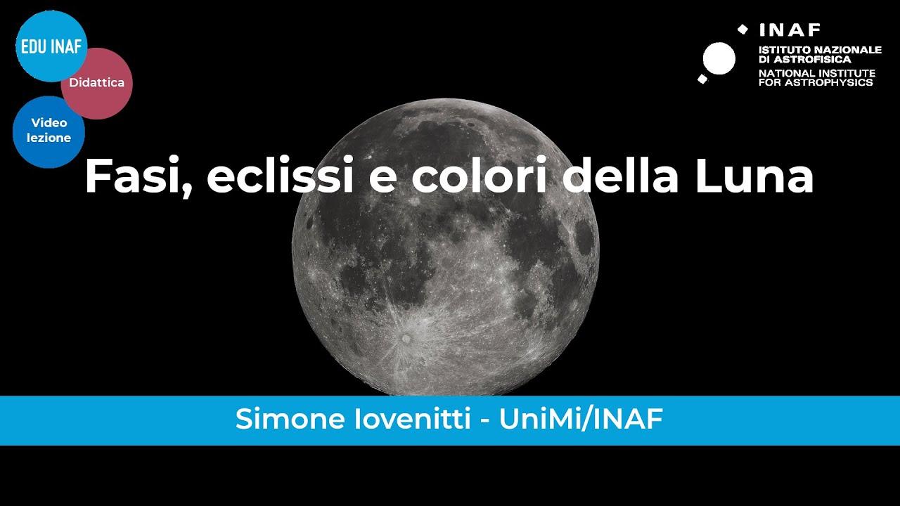 Fasi, eclissi e colori della Luna