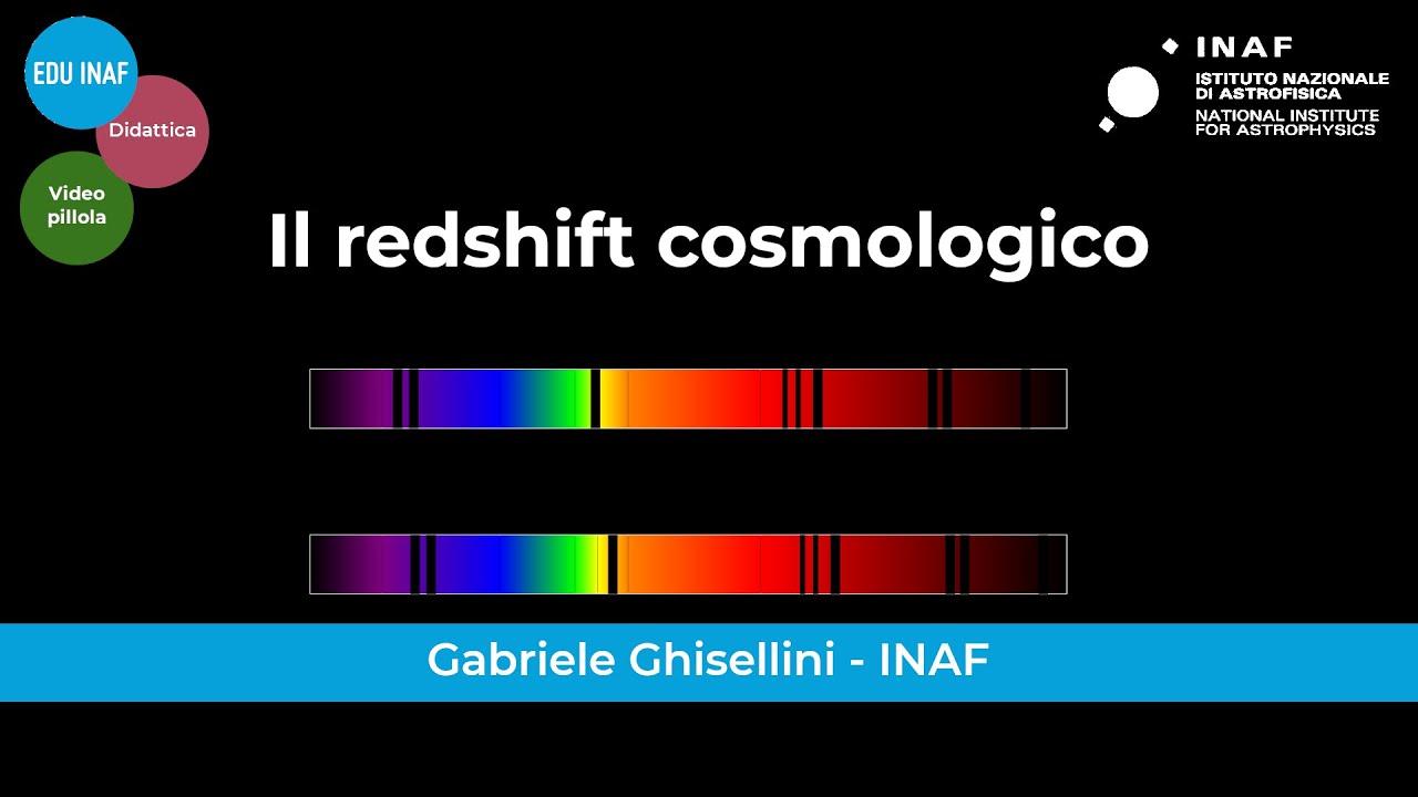 Il redshift cosmologico
