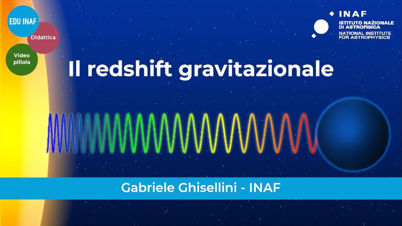 Il redshift gravitazionale