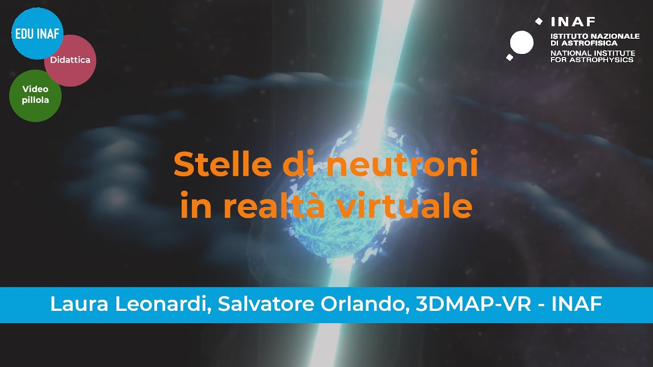 Le stelle di neutroni in realtà virtuale
