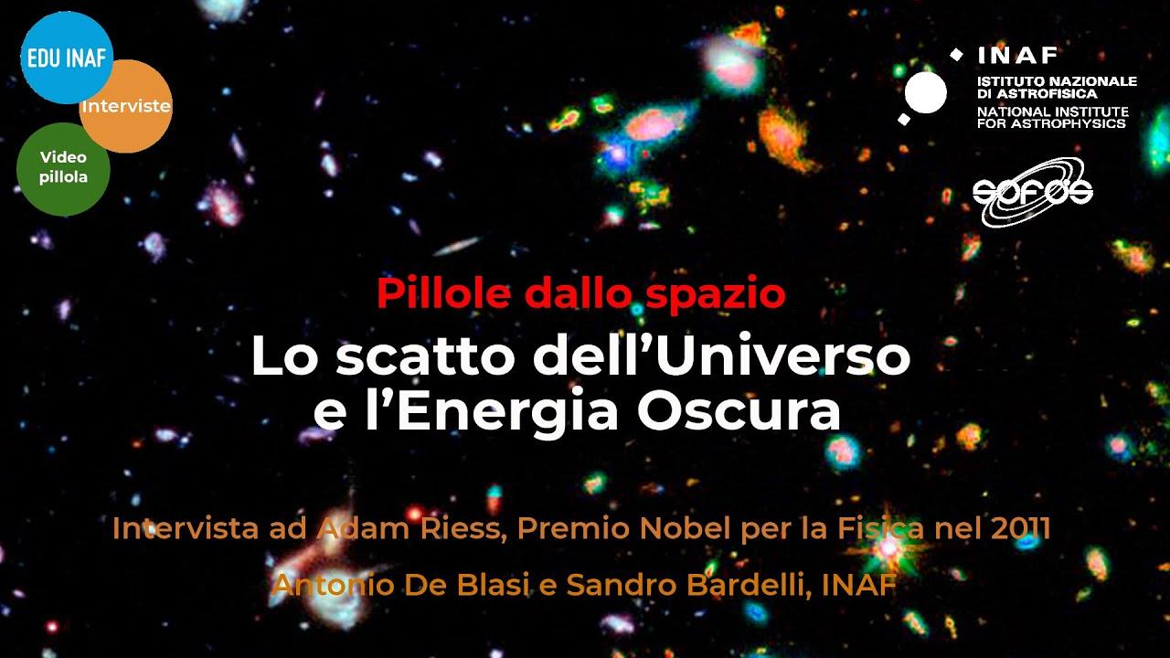 Lo scatto dell'universo e l'energia oscura