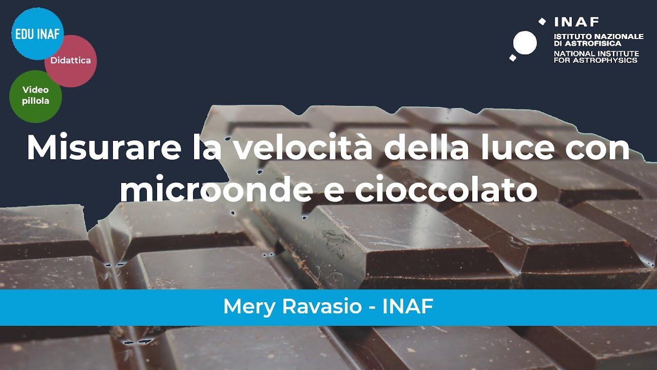 Misurare la velocità della luce con microonde e cioccolato