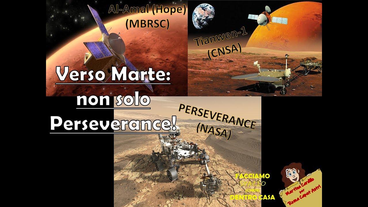 Verso Marte: non solo Perseverance!