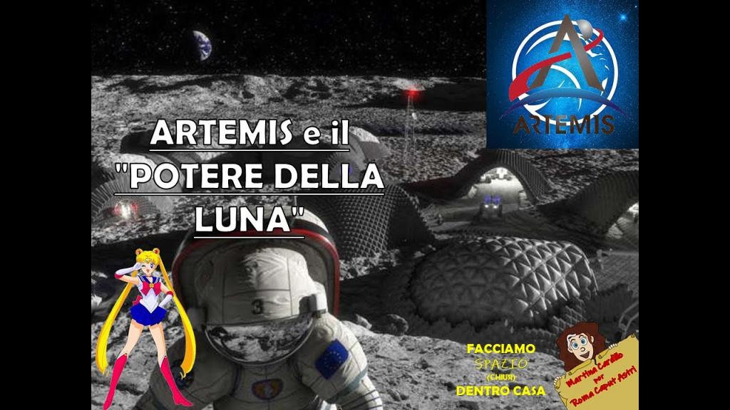 """ARTEMIS e il """"potere della Luna"""""""