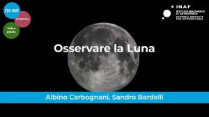Osservare la Luna