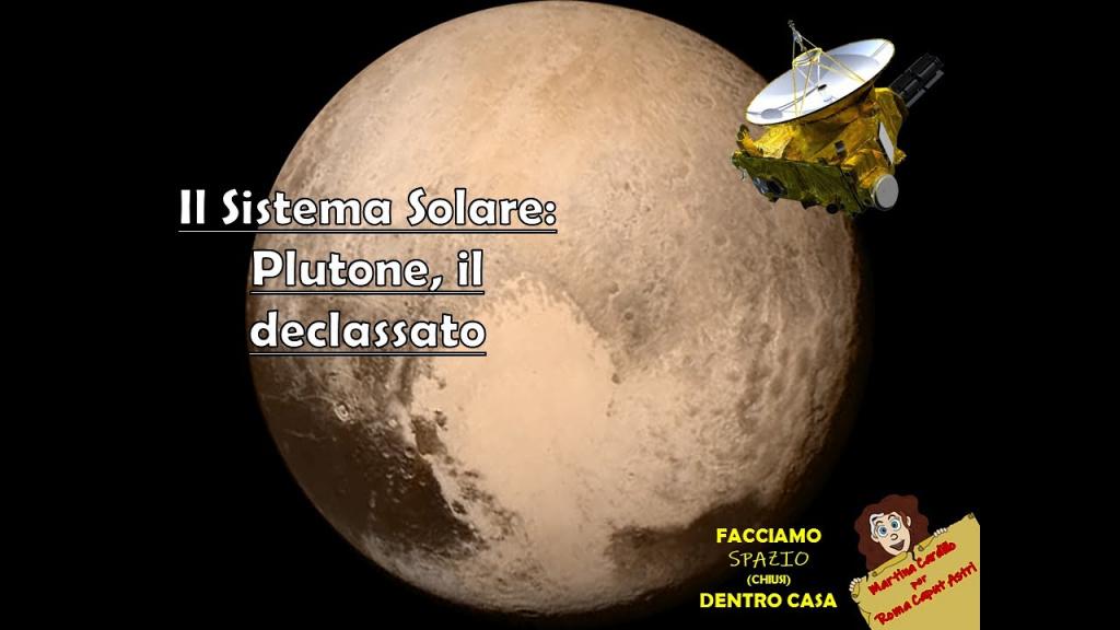 Plutone, il declassato