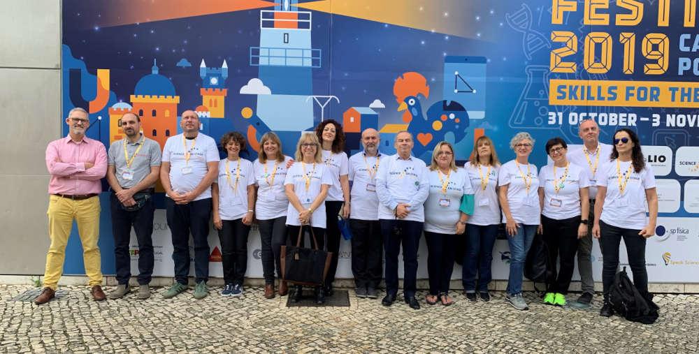 scienceonstage2019-delegazione_italiana