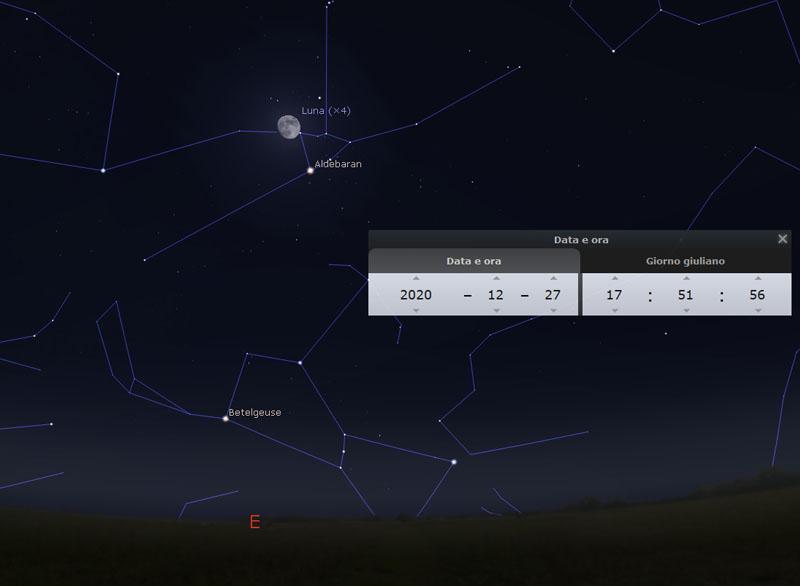 Congiunzione-Luna-Aldebaran-27-dicembre-2020