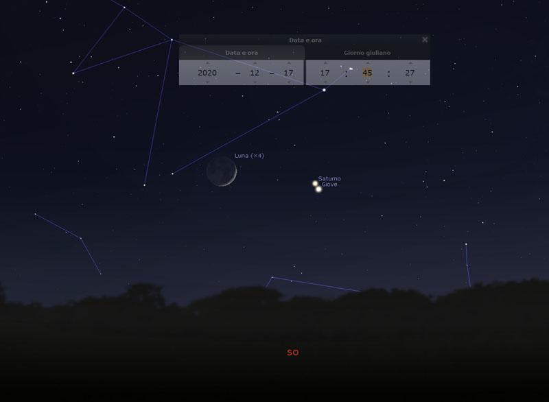 Congiunzione-Luna-Giove-Saturno-17-dicembre-2020