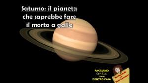 Saturno: il pianeta che saprebbe fare il morto a galla