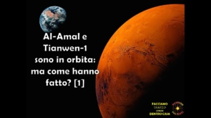 Al-Amal e Tianwen-1 sono in orbita: ma come hanno fatto?
