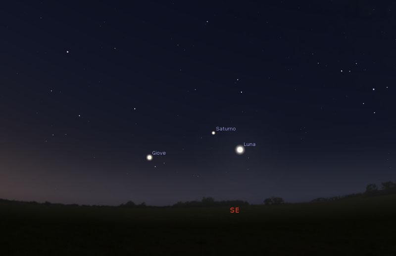 6-aprile-2021-congiunzione-Luna-Saturno