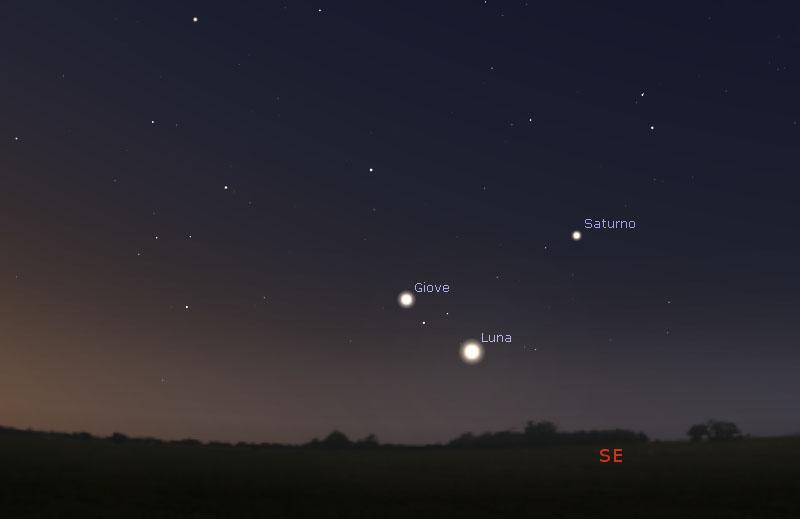 7-aprile-2021-congiunzione-Luna-Giove