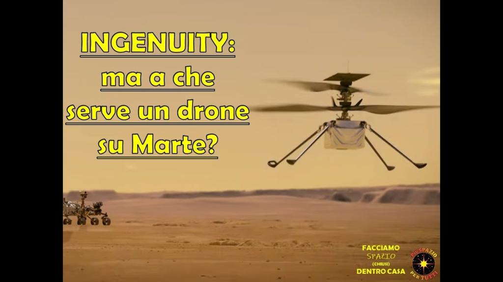 Ingenuity: ma a che serve un drone su Marte?